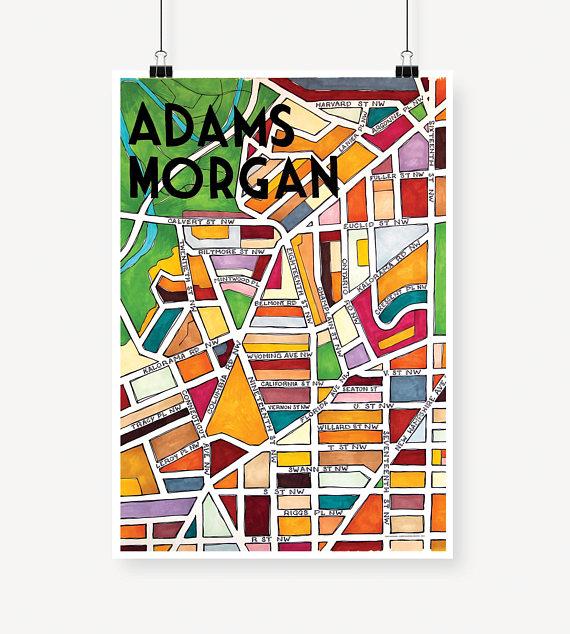 Adams Morgan Map